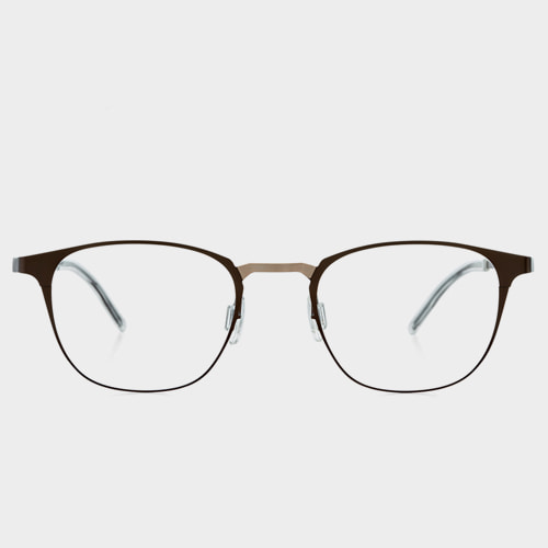 c62d402b57  STEALER  DAYLIGHT STL09 Thin Temple Rounded Square Eyeglasses