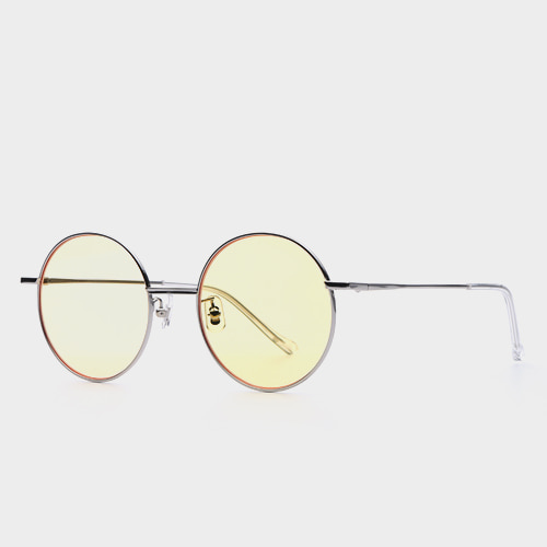343e9c5f0e9  GENTLE MONSTER  MIDNIGHT SUN 02(Y) Yellow-Tinted Round Lens Thin Frame  Shades