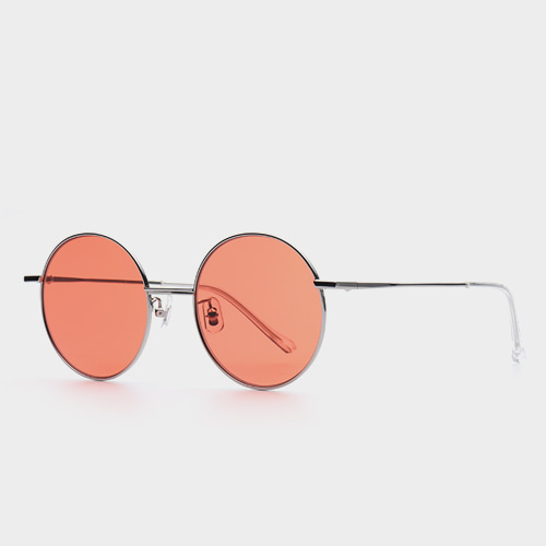 ee76d8b1f7f  GENTLE MONSTER  MIDNIGHT SUN 02 (OR) Orange Tint Round Lens Sunglasses